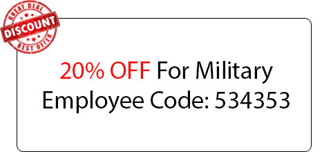 Military Employee Coupon - Locksmith at Balch Springs, TX - Balch Springs Texas Locksmith